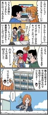 【漫画】年収400万円だと、住宅ローンの借入可能額っていくら?
