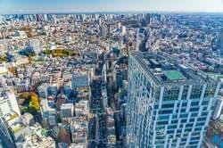 渋谷区を見渡す「渋谷スクランブルスクエア」