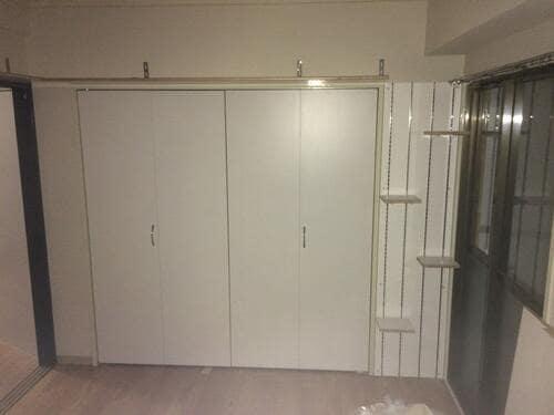 猫仕様に改装し、家賃を1万円アップした部屋