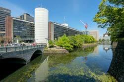 竹橋駅周辺の様子(出典:PIXTA)