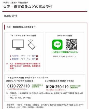損保ジャパン 福島県沖地震 2021