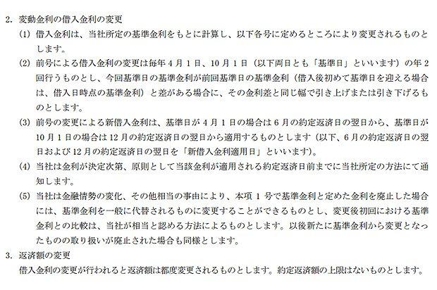 PayPay銀行の住宅ローン契約規定
