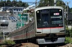 目黒区を走る東急東横線