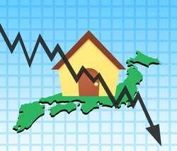 不動産価格の下落