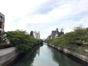 清澄白河の風景