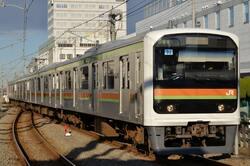 JR 209系 北八王子駅(出典:PIXTA)