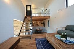 狭小住宅のスキップフロア