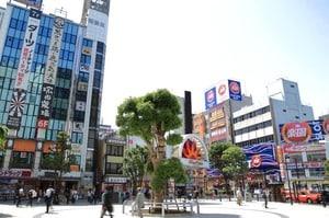 蒲田駅周辺の様子