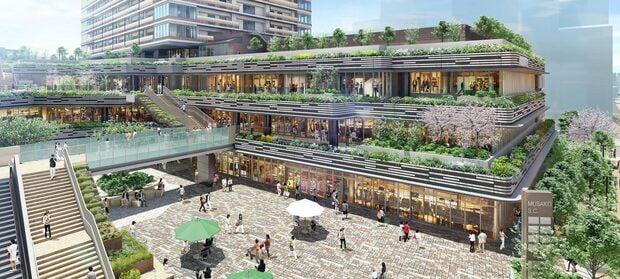 プラウドタワー武蔵小金井には多彩な商業施設が入居予定だ