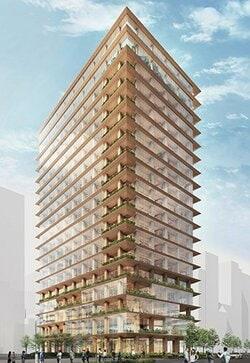 木造賃貸オフィスビルの外観イメージ(資料:三井不動産リリース資料より)