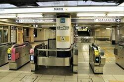 有楽町線の銀座一丁目駅