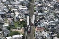 日本の東京都市景観 三軒茶屋周辺・西太子堂駅などを望む(出典:PIXTA)