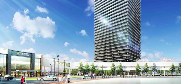 ザ・グランアルト札幌 苗穂ステーションタワーの外観イメージ