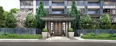 「パークコート千代田四番町」は人気の「パークコート」シリーズのマンション(写真提供:三井不動産)