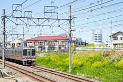 東武東上線 みずほ台駅付近