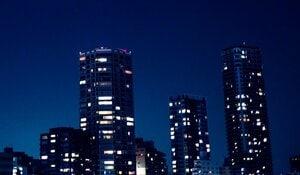 都会のマンション群(本文と関係ありません)