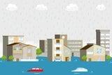 東京西エリアにもある水害リスク。河川から離れていても浸水する可能性のある地域はどこ?
