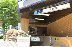 東京メトロ日比谷線神谷町駅周辺の様子