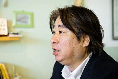 原島信一さん(ペイント先生) 株式会社ウォールデザインハラシマ代表(記事の最後にプロフィールあり)