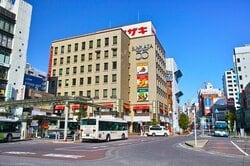 市川駅周辺の街並み