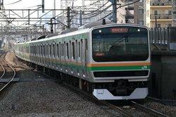 湘南新宿ラインの車両