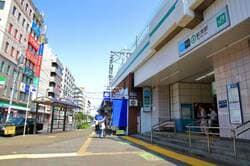 千代田線の起点でもある綾瀬駅