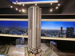 プラウドタワー東池袋ステーションアリーナの完成予想模型