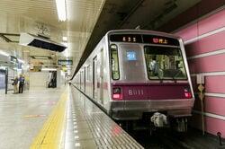千代田区を走る東京メトロ半蔵門線